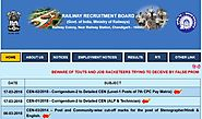 www.rrbcdg.gov.in RRB Chandigarh Official Site - Recruitment Notification Cut off Results - RRB Result