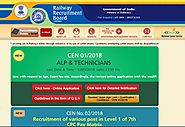 www.rrbchennai.gov.in RRB Chennai Official Site - Recruitment Notification Cut off Results - RRB Result