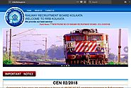 www.rrbkolkata.gov.in RRB Kolkata Official Site - Recruitment Notification Cut off Results - RRB Result