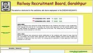 www.rrbgkp.gov.in RRB Gorakhpur Official Site - Recruitment Notification Cut off Results - RRB Result