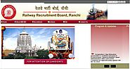 www.rrbranchi.gov.in RRB Ranchi Official Site - Recruitment Notification Cut off Results - RRB Result