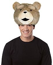 Ted Movie Teddy Bear Hat Head Halloween Party Adult Humor Costume Accessory