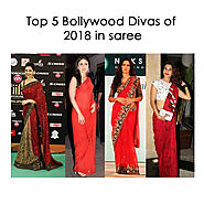 Top 5 Bollywood Divas of 2018 in saree