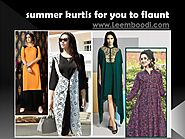 Top 5 summer kurtis for you to flaunt PowerPoint Presentation
