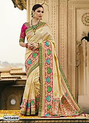 Get the best deals on online shopping sarees offer – Leemboodi Fashion – Medium