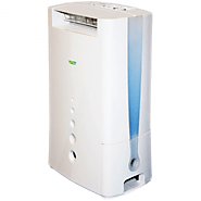 EcoAir DD128FW 8 Litre Desiccant Dehumidifier with Ioniser & Silver Filter