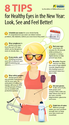 8 Tips For Healthy Eyes In This New Year 2014 | Tips Builder