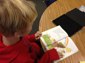 1st Grade Read to Self with iPads