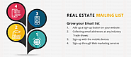 Real Estate Mailing Lists | Real Estate Mailing Address | B2B Scorpion