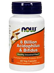 8 Billion Acidophilus & Bifidus 120 vcap