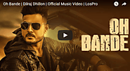 Oh Bande Lyrics Dilraj Dhillon | Punjabi Song | Lyrics Wrap
