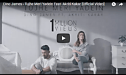 Tujhe Meri Yadein Lyrics Dino James | New Song | Lyrics Wrap
