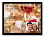 """Special Place in My Heart"" I Love You Valentine Gift For Husband, Wife, Girlfriend Or Boyfriend - 8x10 Inch Frame wi..."