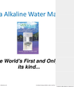 Best Alkaline Water Machine Water Purifier System Comparison