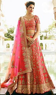 Top Trends for 2018 in Lehenga Design