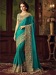 Indian Party Wear Sarees – Atmee