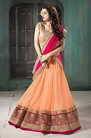 Relive Ethnic Tradition with Online Lehenga Collection