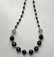 Black Onyx Necklace – Anthony's Emporium