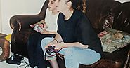 Gaming with my mom, taken in 2000 - Imgur