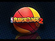 NBA Playgrounds - Dell Curry & James Harden VS Al Jefferson & Billy Cunningham - NBA Playgrounds 2