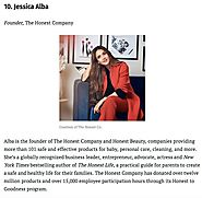 "Inside Honest on Instagram: ""A huge congratulations to our Founder @jessicaalba for being named @forbes 10th Most Pow..."