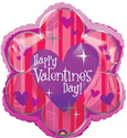 9 inch Starlight Flower Valentine's Day (Mini Shape) Foil Balloon