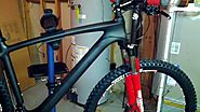 A bargon carbon fiber seatpost