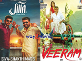 Veeram-Jilla crossing swords, Pongal battle starts today