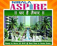 Nirala aspire, Situated at Sec-16 Noida Exten,Nirala aspire Price List - Nirala Aspire