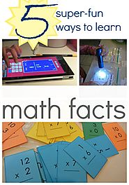 5 super-fun ways to learn math facts - teach mama