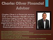 About Charles Oliver Financial Advisor