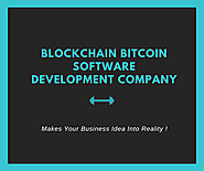 Blockchain & Bitcoin Software Development Company! – Coinjoker – Medium