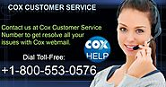 Contact Us to Sign up Cox email at +1-800-553-0576