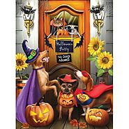 The Halloween Party Jigsaw Puzzle - Puzzle Haven
