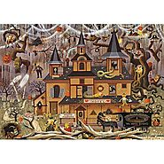 Trick or Treat Hotel Jigsaw Puzzle - Puzzle Haven