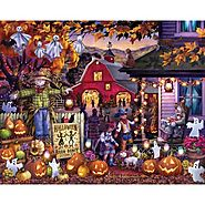 Halloween Barn Dance Jigsaw Puzzle - Puzzle Haven