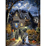Tess's Halloween Glow in the Dark Jigsaw Puzzle - Puzzle Haven