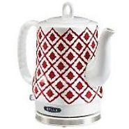 BELLA 14102 Ceramic Kettle, Red