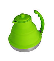 Better Houseware Collapsible Tea Kettle in Lime Green - Kitchen Things
