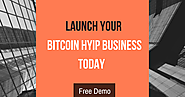 Create & Manage Your Own Bitcoin HYIP Investment Website