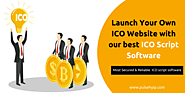 Launch Your Own ICO Website with our best ICO Script Software