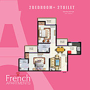 French Apartments | Floor Plan