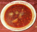 Kidney Bean and Tomato Soup