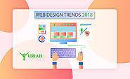 3 Inspirational Web Design Trends in 2018| New Graphic Design| visual Contents, Communication