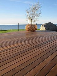 Website at http://beautex.in/product/thermowood-ash-decking/