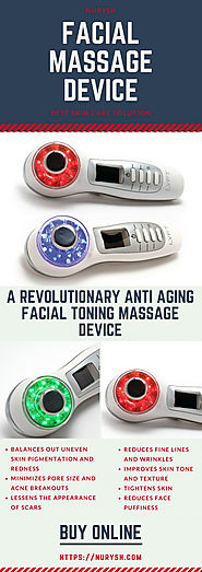 Facial Massage Device | Visual.ly