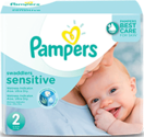 Pampers Swaddlers Sensitive Diapers: New Baby Diapers