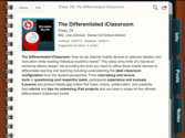 Differentiating the iClassroom