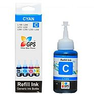 GPS L100 Compatible Ink 75gms.-Cyan