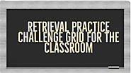 Retrieval Practice Challenge Grids for the classroom – Love To Teach